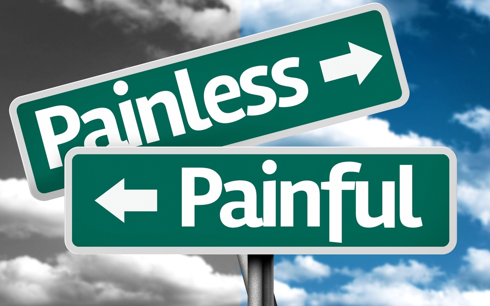 Painless x Painful creative sign with clouds as the background.jpeg