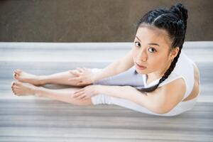 asian girl yoga bone deformities leg lengthening