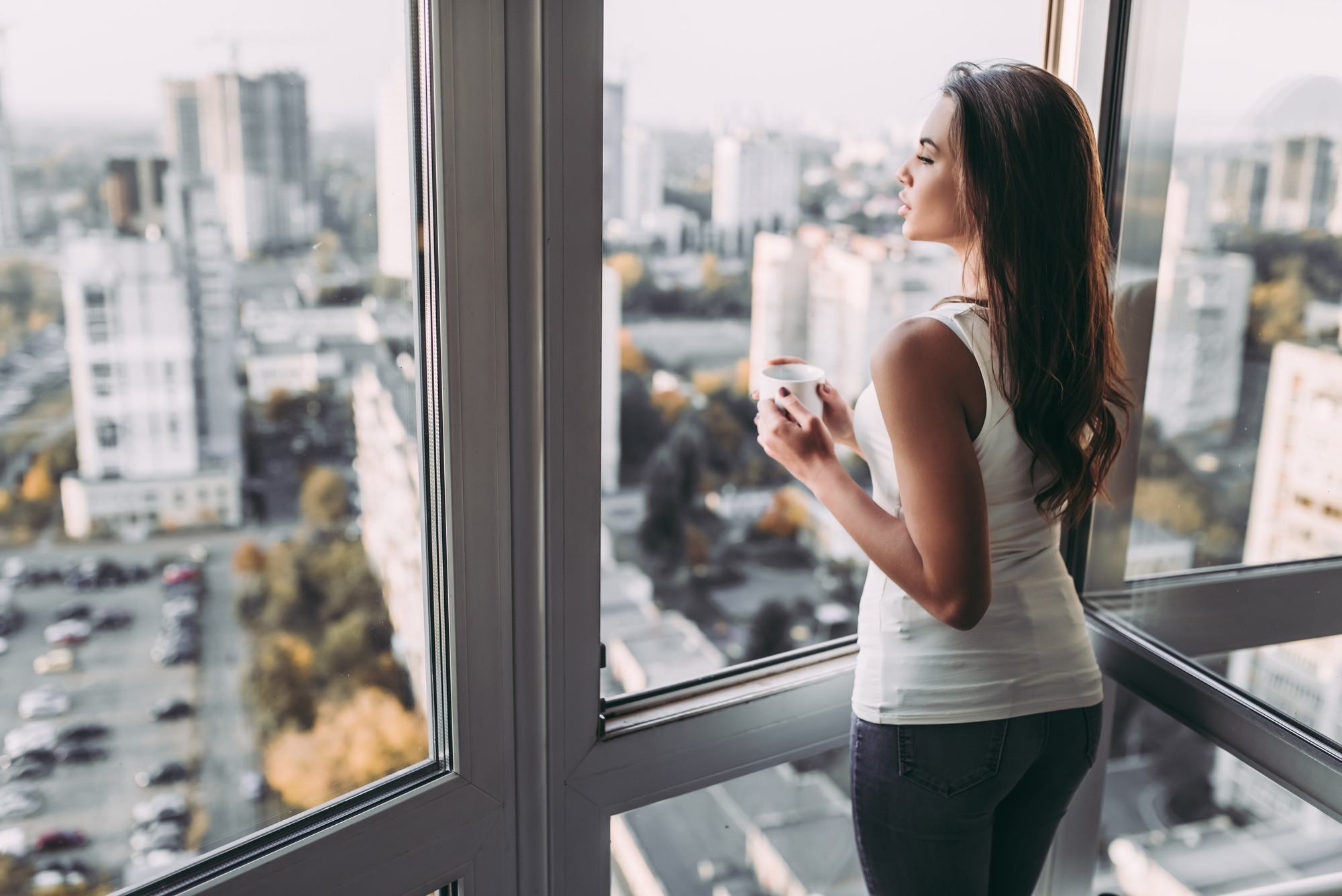 short women reflecting on height surgery